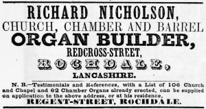 Richard Nicholson advert