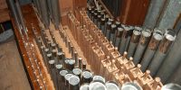 Restored Great organ