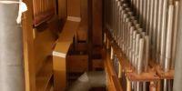 Pedal Organ pipework