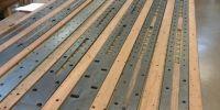 Choir soundboard restoration