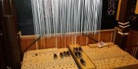 Pedal upperwork soundboard