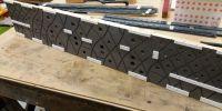 Upperboards grooved