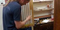 Wiring pin board