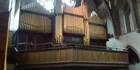 Organ on gallery