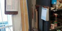 Broken reed pipe soldered