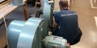 Testing new blowers