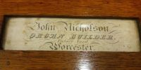 Our founder's nameplate