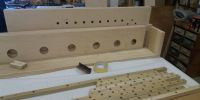 A chest under construction