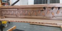 A chest ready for testing in the workshop