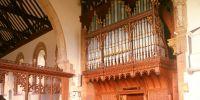 Restored Nicholson organ at Twyning St Mary Magdalene's