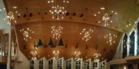Completed organ panorama