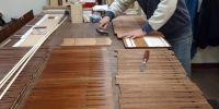 Preparing stripped power motors