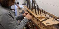 Regulating the Principal 4' on the Swell Organ
