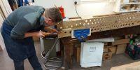 Kelvin repairing rackboard