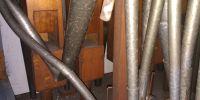 Swell Organ reeds before repair