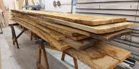 Oak for machining for console