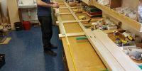 Wesley creating wiring looms