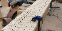 Grooved upperboard