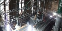More of the scaffolding