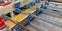 Rebuilding soundboard frames