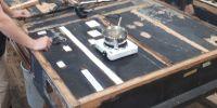 Repairing reservoir bottom board